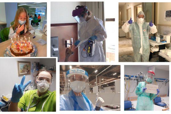 Héroes con mascarilla Montealto Alumni – Gracias